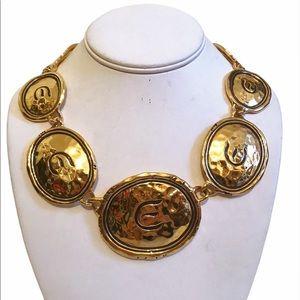 Elizabeth Taylor 'Gold Coast' Necklace 1993 Avon